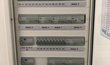 Quadros elétricos com domótica KNX